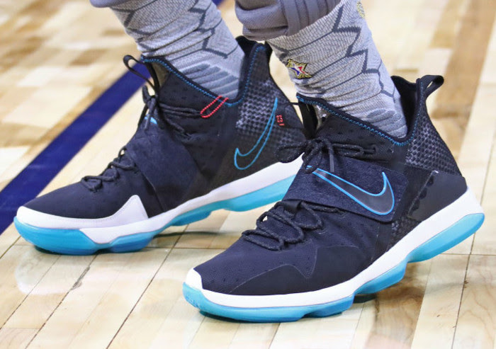 3e9172d8914 Red Carpet Look Revisits Nike LeBron 14 During All-Star Practice ...