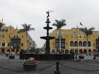 Plaza de Armas - Fuente