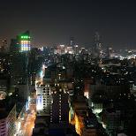 night skyline of Kaohsiung, Taiwan in Kaohsiung, Kao-hsiung city, Taiwan