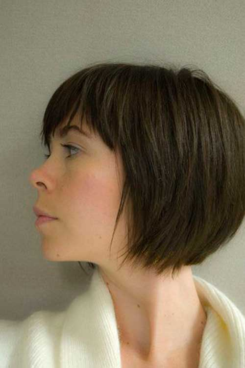trendy brown bob hairstyles 2016