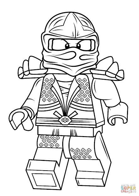 Click The Lego Ninjago Lloyd Zx Coloring Pages To View Printable Version Or  Color It Online Patible With Ipad And Android Tablets