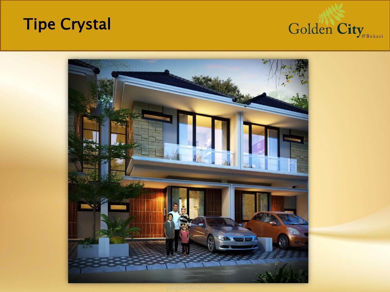 Rumah Crystal Cluster Diamond Golden City Bekasi