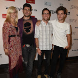 OIC - ENTSIMAGES.COM - Sierra McCormick, Adam Egypt Mortimer, Brian DeLeeuw and Ronen Rubinstein at the Film4 Frightfest on Saturday    of  Some Kind of Hate UK Film Premiere at the Vue West End in London on the 29th August 2015. Photo Mobis Photos/OIC 0203 174 1069