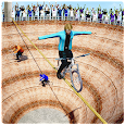 Well Of Death Bicycle Stunt Rider Free Cycle Games