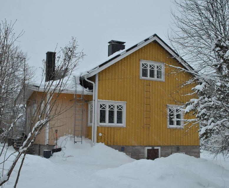 Tyyppitalo on rakennettu 1943