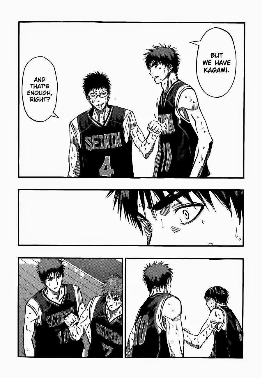 Kuroko no Basket Manga Chapter 261 - Image 14