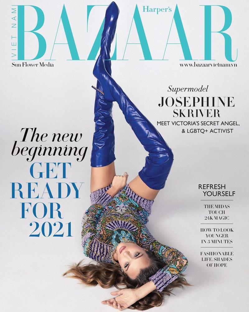 Harper's Bazaar Vietnam January 2021