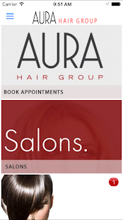 Aura Hair Group BC - náhled