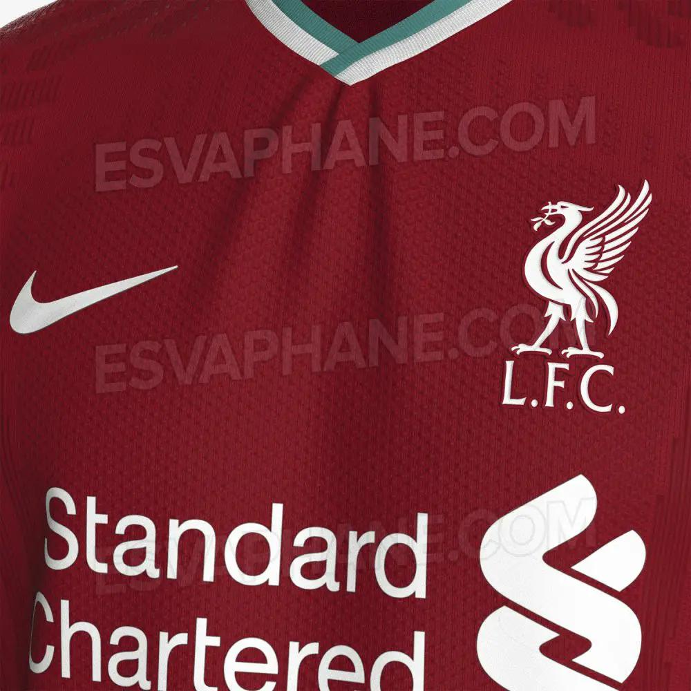 gambar foto Bocoran Jersey Liverpool 2020/2021