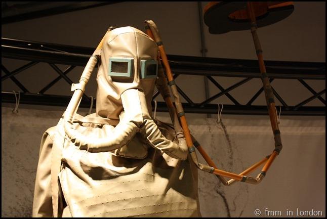 Model of Leonardo da Vinci Underwater Breathing Aparatus