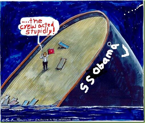 titanic obama - sinking_ship_cartoon