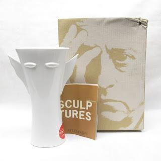 Ritzenhoff NEW Sculptures Vase by Ambrrogio Pozzi