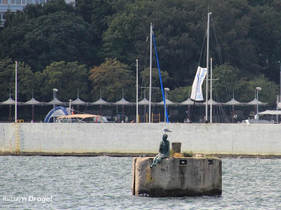 Pomnik Marzyciela - Dyrygenta Fal w Gdyni