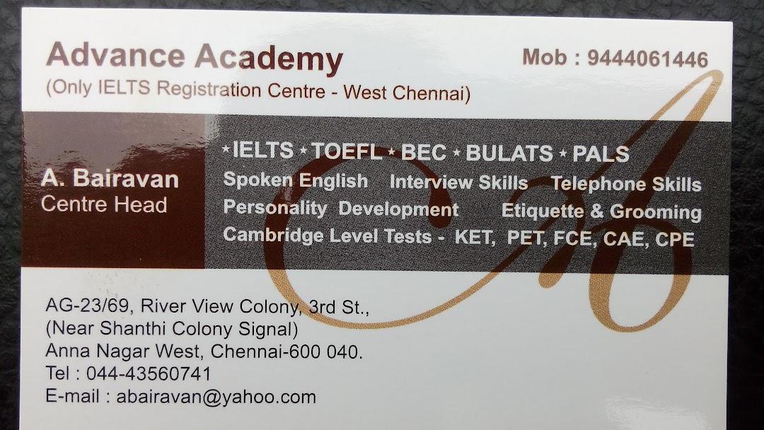 Advance Academy - IELTS - English Language Class in Chennai