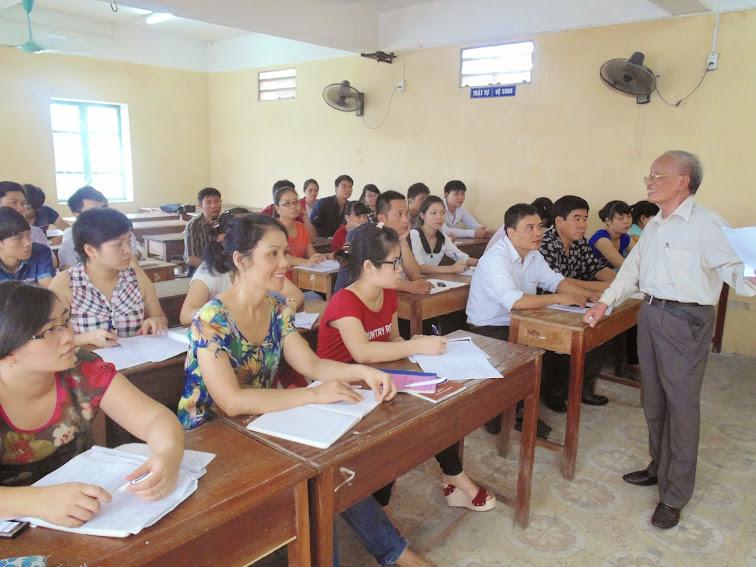 PGS. TS. Phạm Văn Trịnh - Hết lòng vì sự nghiệp đào tạo