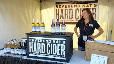 Reverend Nat's  Hard Cider booth