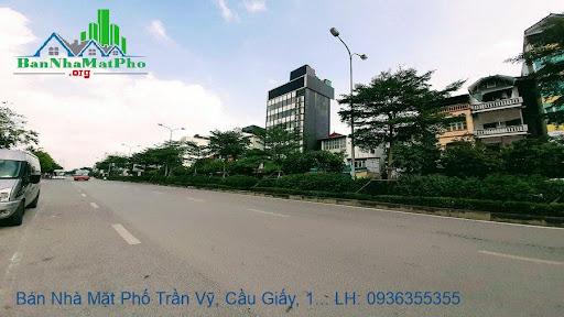 Bán nhà mặt phố Trần Vỹ