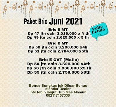 Paket Brio  Cicilan Murah Banget!!