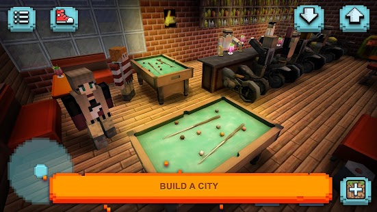 Motorcycle racing craft moto games building 3d for Crafting and building app store