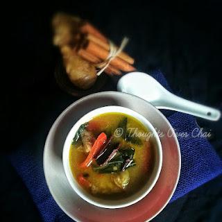Mutton Leg Soup