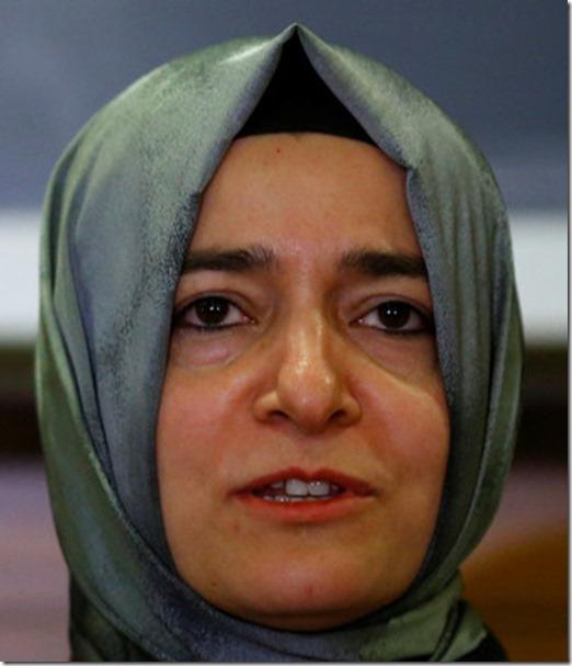 türkische Familienministerin
