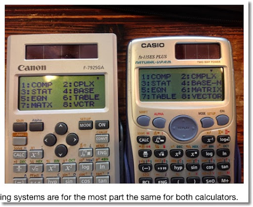 Eddie's Math and Calculator Blog: Review: Canon F-792SGA