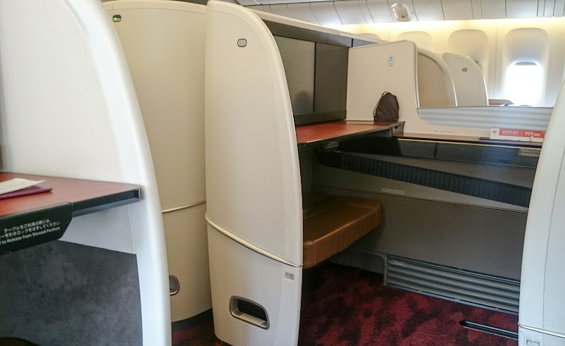 JL%252520F%252520HND LHR 65 - REVIEW - JAL : First Class - Tokyo Haneda to London (B77W)