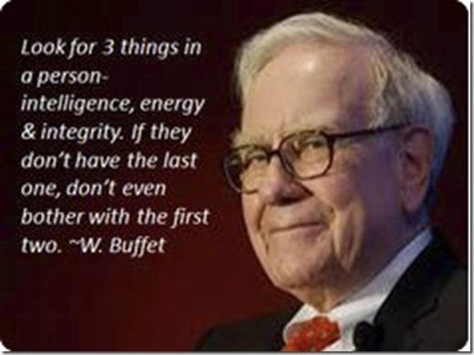 buffet integrity