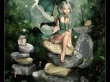 Fairy On Ancient Stones