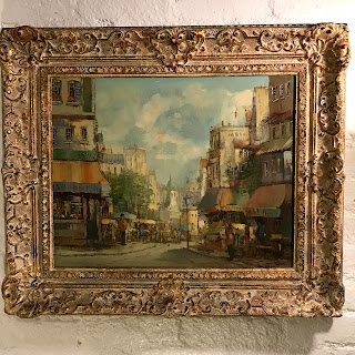 Dorschot Signed Paris Scene Oil