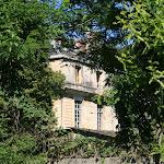 Le château depuis la rue de Pontoise
