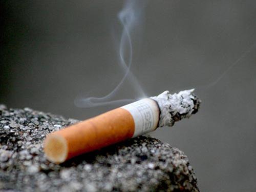 Hinh anh: Nicotin trong khoi thuoc