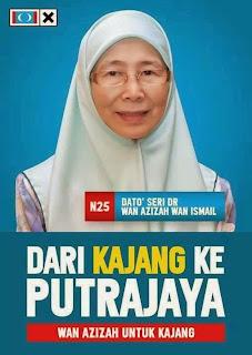 Wan Azizah: Perancangan jahat Umno halang Anwar jadi Presiden PKR