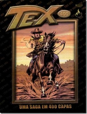 Tex - 400 Caderno de capas