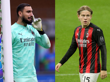 AC Milan Goalkeeper Donnarumma And Hauge Test Positive For Coronavirus