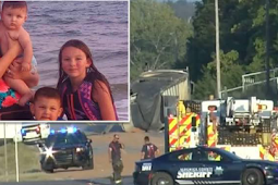 Semi trailer passes a stop sign, kills mom and four kids in the SUV.