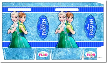 Plantilla Fiesta de Frozen
