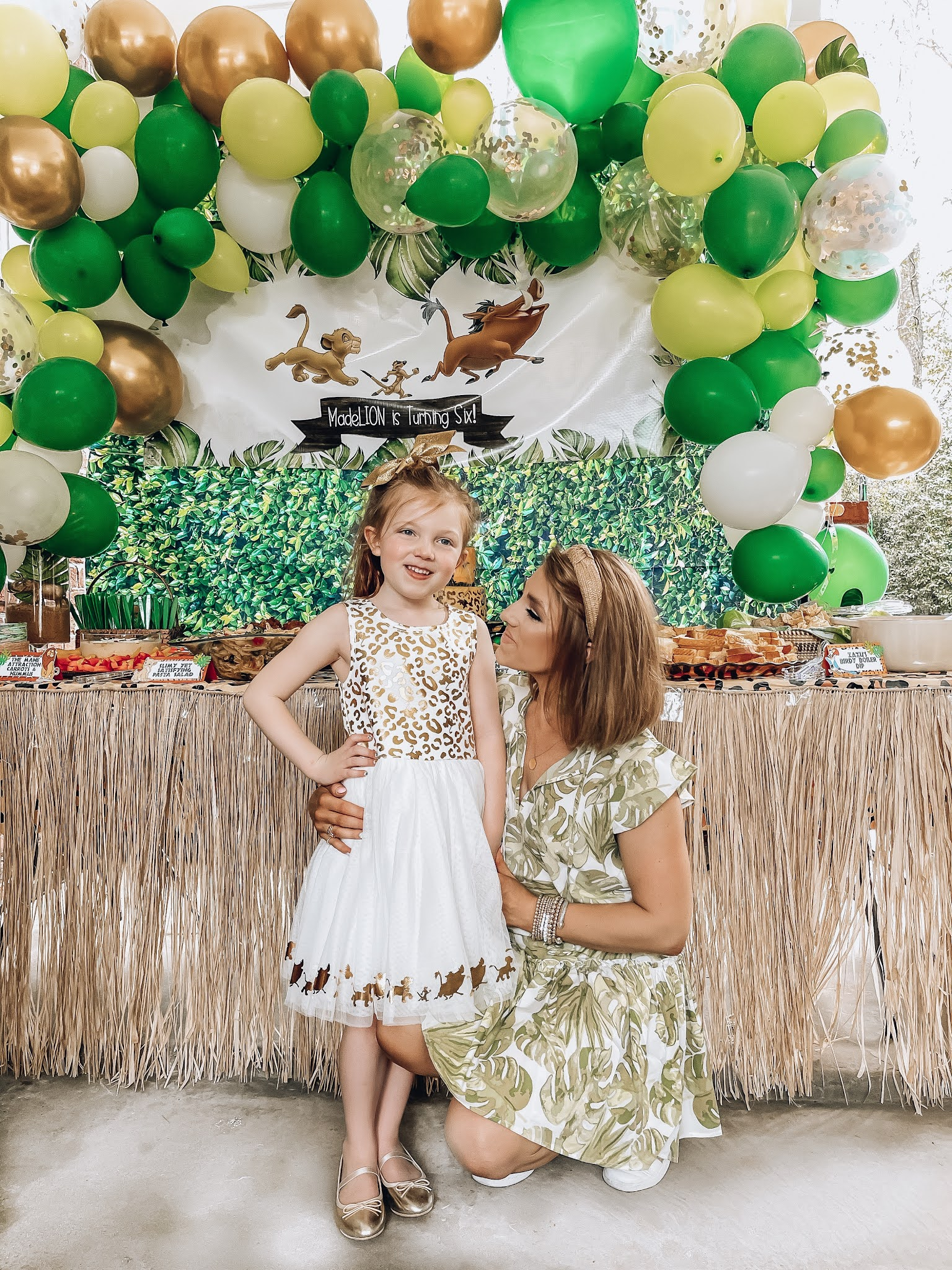 Madeline's Lion King 6th Birthday Party - Something Delightful Blog #partyideas #kidsbirthdayparty #lionkingparty #wildoneparty #safariparty #animalprintparty