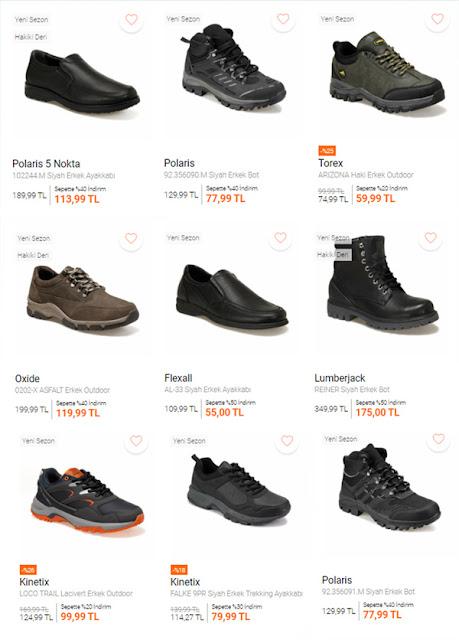 تخفيضات ماركة FLO للأحذية الرجالية 2021