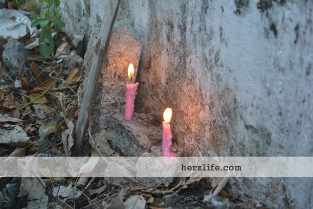 Candles Cemetery