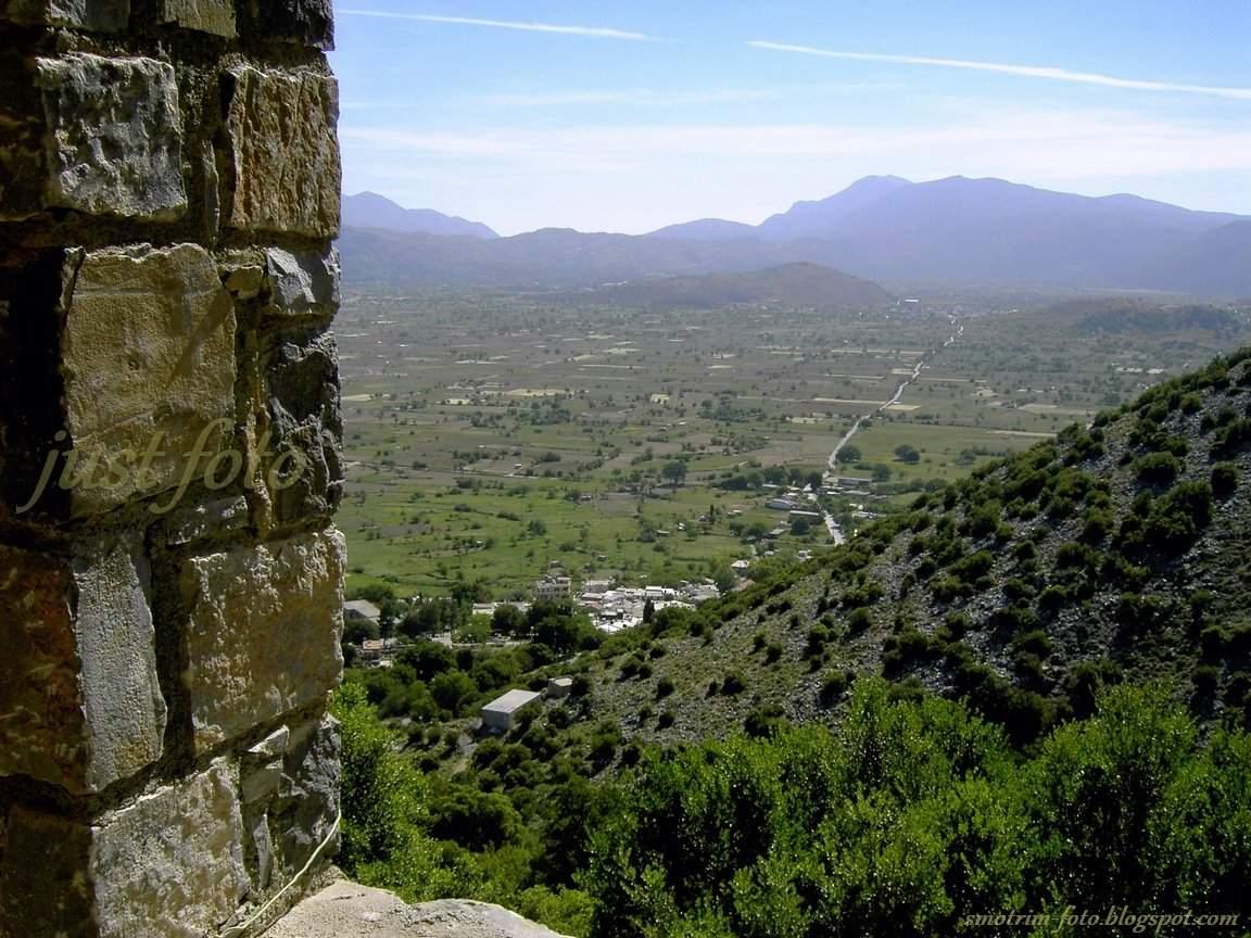 Плато Лассити на Крите фото