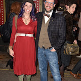 OIC - ENTSIMAGES.COM - Andrea Datzman and Michael Giacchino at the Guys and Dolls - media night at The Phoenix Theatre London 114th April 2016 Photo Mobis Photos/OIC 0203 174 1069