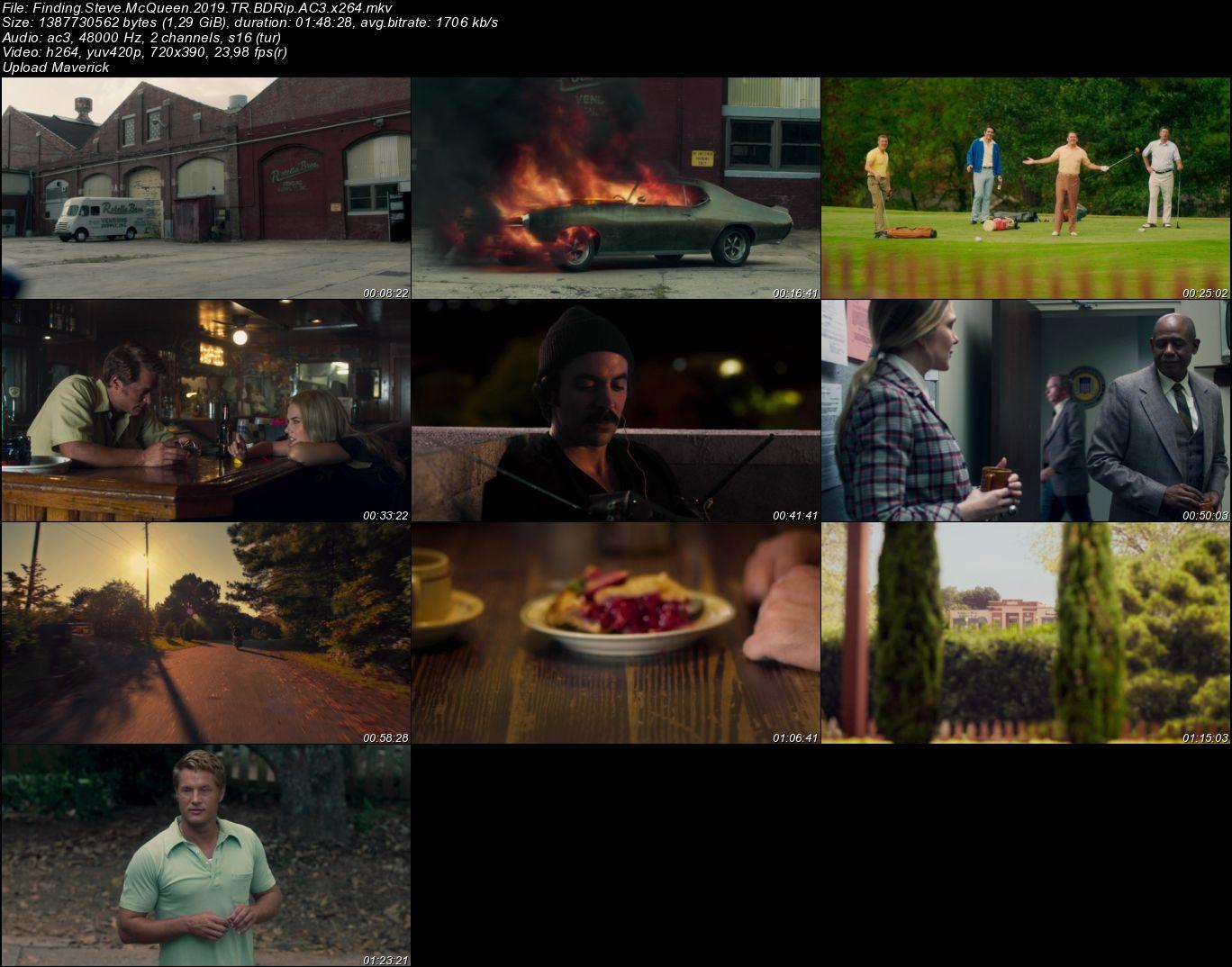 Steve McQueen'i Bulmak - 2019 Türkçe Dublaj BDRip XviD indir