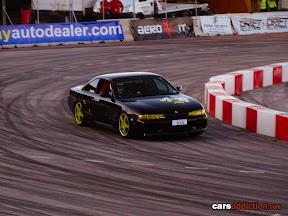 Black Nissan S14