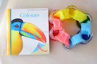 Color Mixing Activity for Preschoolers:  Green, Orange and Purple
