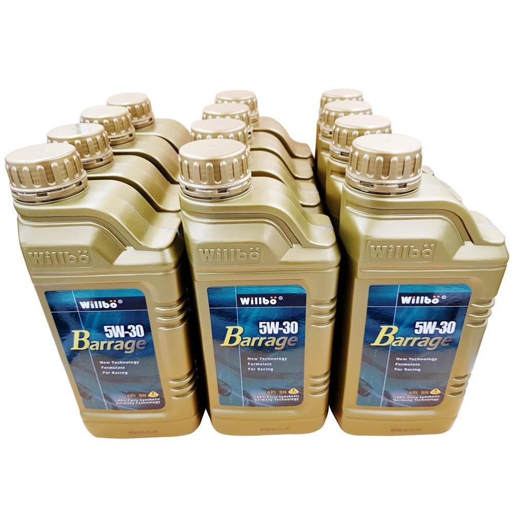 WILLBO BARRAGE 5W30 SN<br/>多元醇酯全合成機油(12瓶裝)