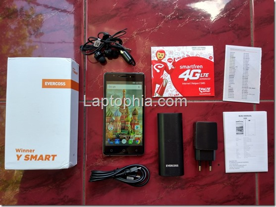 Paket Pembelian Evercoss Winner Y Smart U50