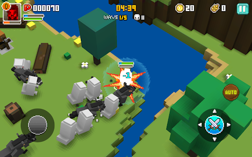 Cube Knight: Battle of Camelot Screenshot