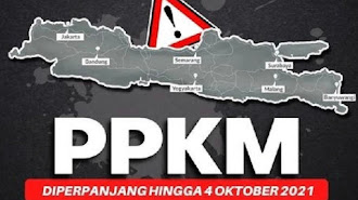 Diperpanjang Hingga 4 Oktober, Ini Aturan Baru PPKM Jawa-Bali