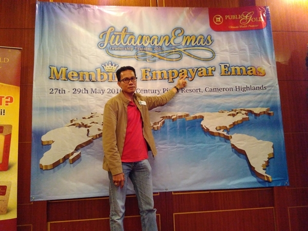 Jutawan Emas Leadership Training